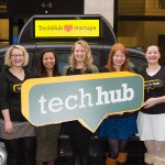 TechHub & Eyetease sharing the startup love!
