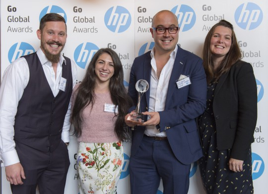 HP Go Global winners Eyetease, digital taxitop startup